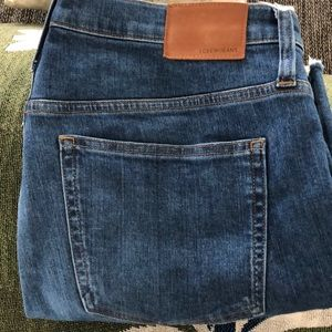 J. Crew Vintage Straight cropped jeans